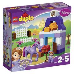 Конструктор LEGO DUPLO 10594 Sofia the First Софии Прекрасная: королевская конюшня