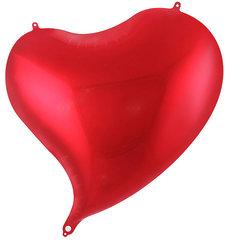 №515 Фигура с гелием. Фольгированное сердце. 45 см.