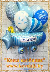"""№012 Композиция """"К рождению мальчика"""""""