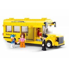 Конструктор Город Средний школьный автобус