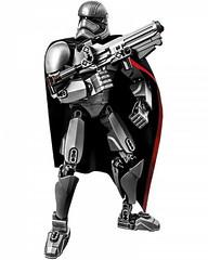Конструктор Decool Звездные войны 9022 Капитан Фазма (82 деталей)