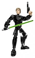 Конструктор для детей из серии Звездные войны Decool 9014 Люк Скайуокер (83 детали)
