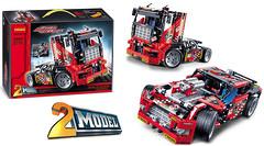 Конструктор Гоночный грузовик 2в1 (3360)