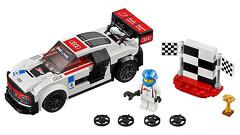 Конструктор Decool 78114 Ultra Car R8 (183 детали)