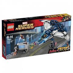 Конструктор LEGO Marvel Super Heroes 76032 Городская погоня на Квинджете Мстителей