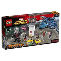 Конструктор LEGO Marvel Super Heroes 76051 Битва супергероев в аэропорту