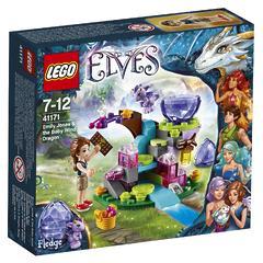 Конструктор LEGO Elves 41171 Эмили Джонс и дракончик Ветра