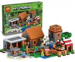 Конструктор Майнкрафт «Деревня» 79288 (Аналог Lego Minecraft 21128) 1106 деталей