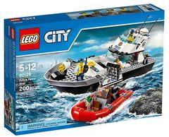 60129 Полицейский патрульный катер Lego City