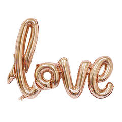 """№007 Надпись """"Love"""" 27 см*105 см."""